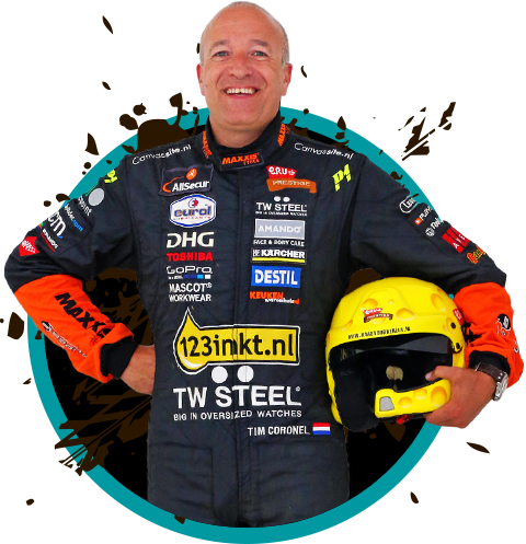 Tim Coronel - 2018 Light Brown hair & chic hair style. Current length:  short hair
